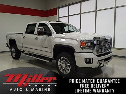 New 2018 GMC Sierra 2500HD Denali Lifetime Warranty 4WD