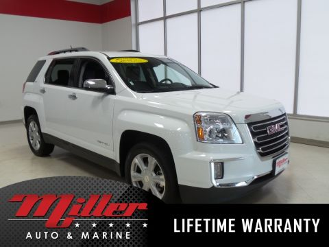 Pre-Owned 2017 GMC Terrain SLT Lifetime Warranty AWD