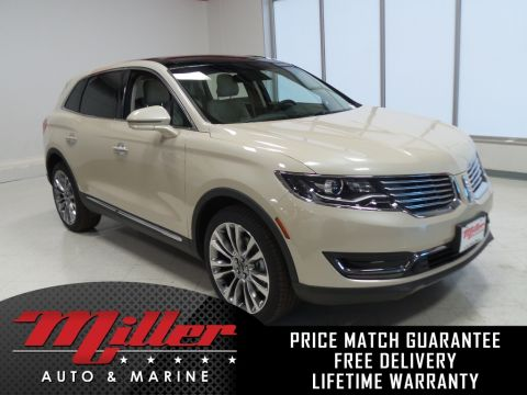 New 2018 Lincoln MKX Reserve Lifetime Warranty With Navigation & AWD