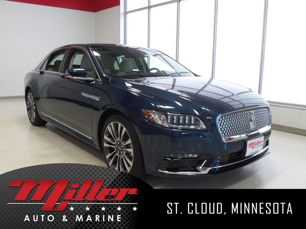 New 2017 Lincoln Continental Reserve 4D Sedan in St. Cloud #40227 ...
